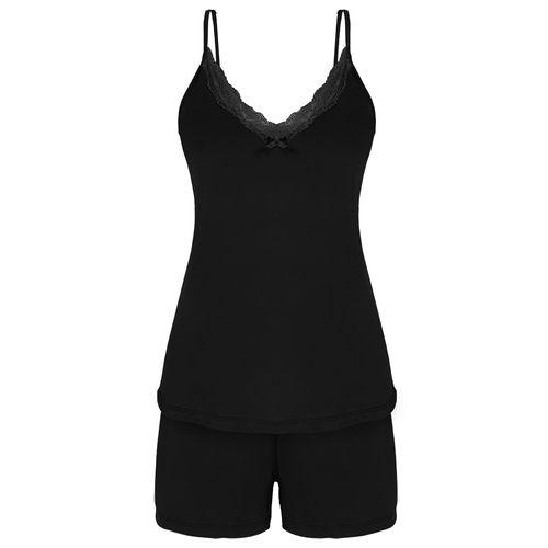 cc83750e8 Pijama Lupo Feminino 24036-001 Short Doll Liganete